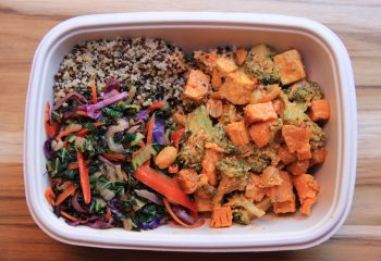 Thai Peanut Sweet Potato Bowl
