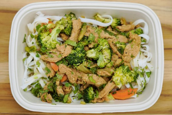 Soy Curl Stir Fry - Vegan Meal Delivery NYC