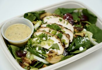 Tarragon Chicken Baby Spinach Salad