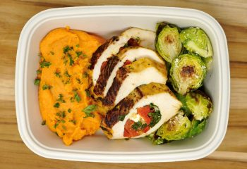 Garden Stuffed Chicken Breast