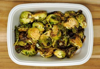 Crispy Lemon Zest Brussels Sprouts (BULK PORTION)