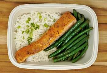 Orange Rosemary Glazed Salmon