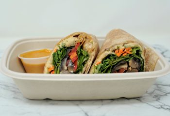 Roasted Vegetable Wrap