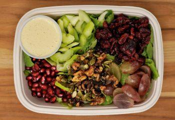Waldorf Baby Kale Salad