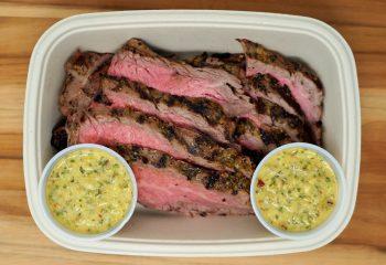 Chimichurri Flank Steak (BULK PORTION)