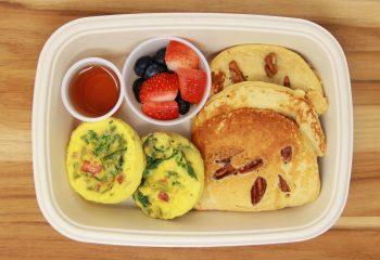 Egg Muffins w/ Kodiak Protein Pancakes