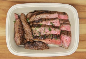 Garlic Balsamic Flank Steak (BULK PORTION)