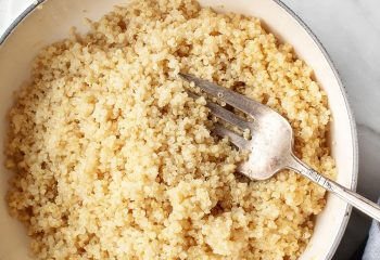 Steamed White Quinoa (BULK PORTION)