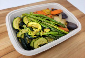 Seared Asparagus, Tri-Color Carrot & Roasted Zucchini (BULK PORTION)